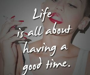 quote, miley cyrus, and life image