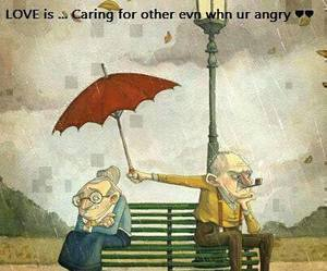 angry and love image
