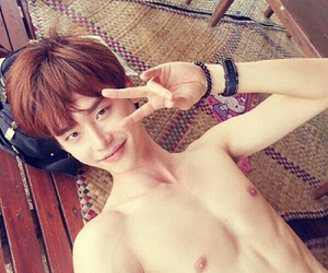 abs, handsome, and korean image