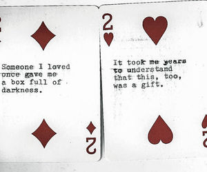 quote, love, and cards image