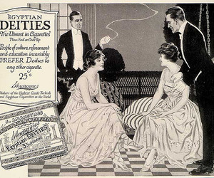 advertisement, cigarettes, and smoking image