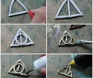 diy, harry potter, and necklace image