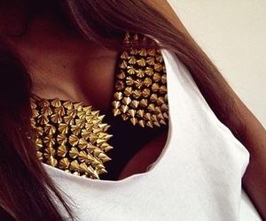 fashion, bra, and gold image