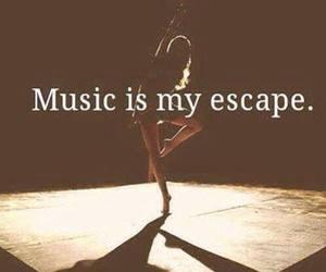 dance, dark, and escape image
