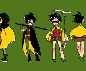 batman, robin, and separate with comma image