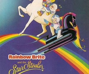 advertisement, mattel, and rainbow brite image