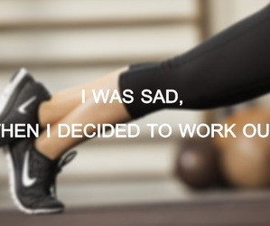workout, girl, and run image