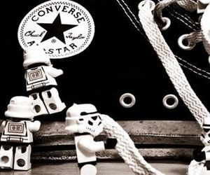 converse, shoes, and star wars image
