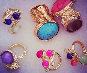rings, ring, and YSL image