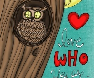love and owl image