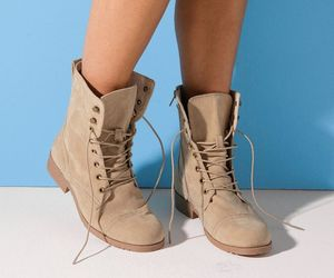 beige and boots image