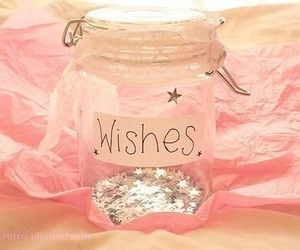 jar, pink, and stars image