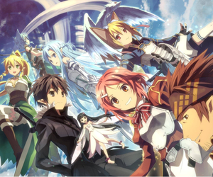 sword art online, sao, and anime image