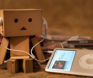music, danbo, and ipod image