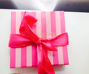 pink, Victoria's Secret, and bow image