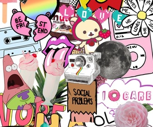 Collage, transparent, and tumblr image