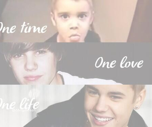justin, one love, and quote image