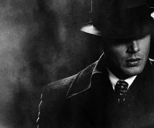 dean winchester, hunter, and Jensen Ackles image