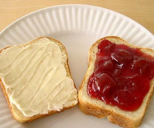 bread and jam image