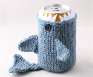 beer, cozy, and crochet image