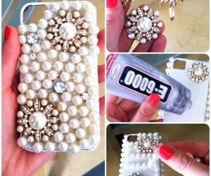 diy, iphone, and case image