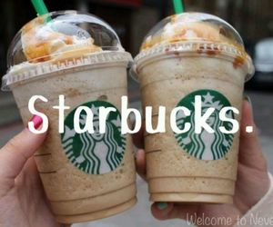 caffe, starbucks, and love image