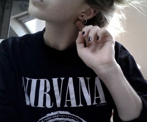 nirvana, girl, and grunge image
