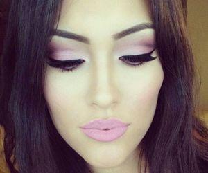 eyeliner, fashion, and make up image