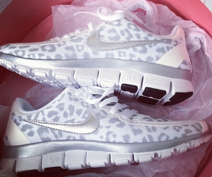 cheetah, sneakers, and girly image