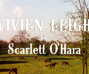 Gone with the Wind, vivien leigh, and scarlet ohara image