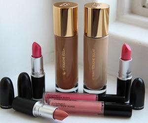 fashion, lipstick, and mac image