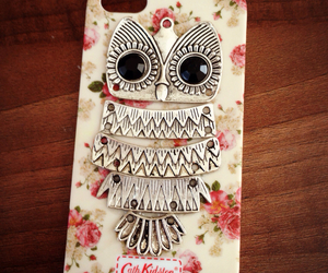 case, fashion, and owl image