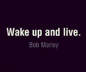 bob marley, live, and life image