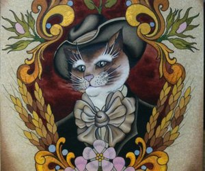 cat, ink it up, and nigel hirschi image