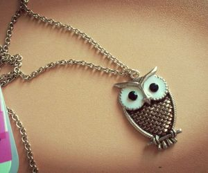 jewelry, little, and owl image