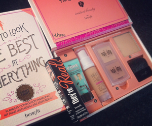 beauty, benefit, and Foundation image