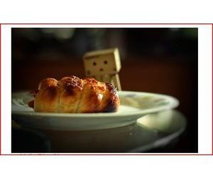 danbo, food, and cute image
