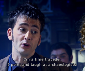david tennant, doctor who, and subtitles image