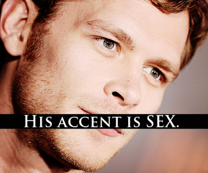 accent, sexy, and tvd image