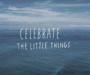 little things and quote image