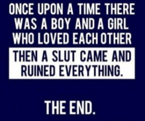 slut, boy, and quote image