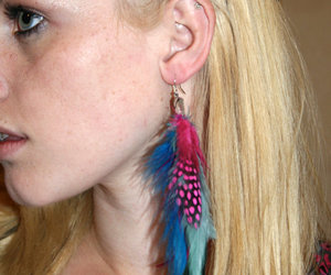 accessory, earring, and etsy image
