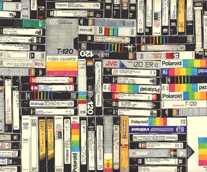 vintage, polaroid, and vhs image