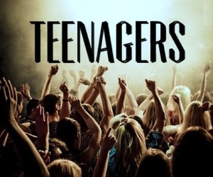 party and teenager image