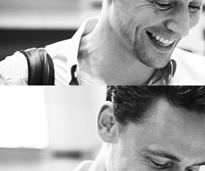 tom hiddleston, smile, and loki image