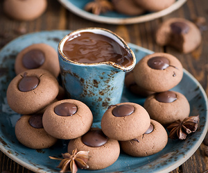 chocolate, food, and biscuits image