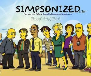 breaking bad and the simpsons image
