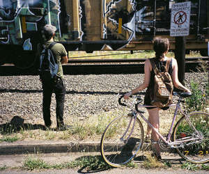 35mm, color, and trespassing image