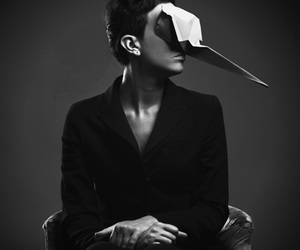 mask and origami image