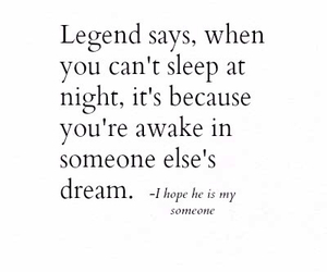 Dream, quote, and awake image